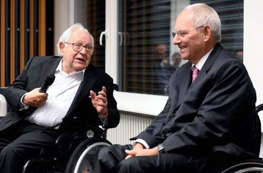 Symposion zu Ehren von Dieter Oberndörfer mit Bundestagspräsident Wolfgang Schäuble