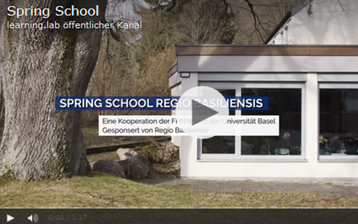 Video – Spring School im Studienhaus